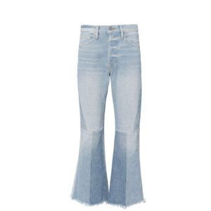 FRAME Hurley Cropped Jeans Light Blue Denim 26